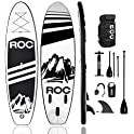 Roc Inflatable Stand Up Paddle Boards with Free Premium SUP Accessories
