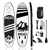 Roc Inflatable Stand Up Paddle Boards W Free Premium SUP...