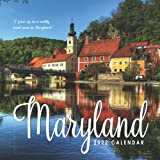 Maryland Calendar 2022: Gifts for Friends and Family with 12-month Monthly Calendar in 8.5x8.5 inch