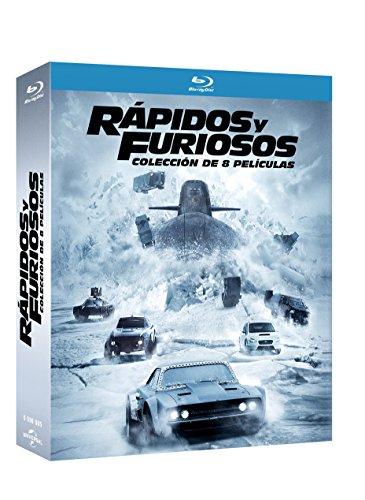 Colección Rápidos y Furiosos. Part 1-8 (Blu-ray)