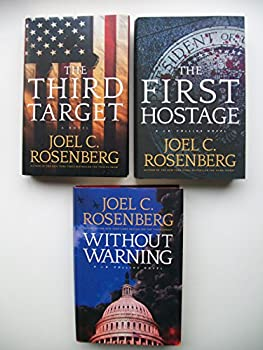 J B Collins Series  Set of 3 Books  The Third Target The First Hostage Without Warning