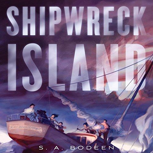 Shipwreck Island audiobook cover art