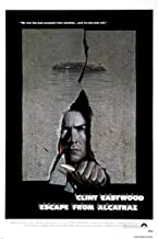 ESCAPE FROM ALCATRAZ CLINT EASTWOOD movie POSTER prison outbreak saga 24X36 (reproduction, not an original)