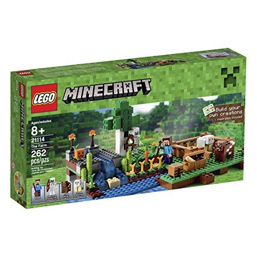 LEGO Minecraft 21114 The Farm Includes A Skeleton's Bow Shovel 13.9 x 7.5 x 2.3\