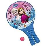 Mondo Toys - Disney Frozen II - 2 Racchette in plastica / pallina di gomma - Gioco da Spiaggia per...