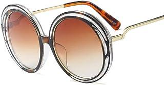 CeciliaJas - Moda Gafas De Sol Steampunk Gafas De Sol De Metal Gafas De Sol Redondas para Niños Niños Niñas Plástico Niños Gafas De Sol