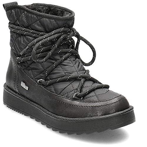 s.Oliver Damen Stiefel 26405-23, Frauen Winterstiefel, Tex, elegant Women's Woman Freizeit leger Winter-Boots gefüttert,Black Comb,41 EU / 7.5 UK