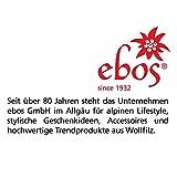 Premium Schlüsselanhänger-Taschenapotheke von ebos | Reiseapotheke aus echtem Wollfilz | 4 Schlaufen für Globuli-Röhrchen, Globuli-Tasche zur Aufbewahrung von homöopathischer Hausapotheke | grün - 3