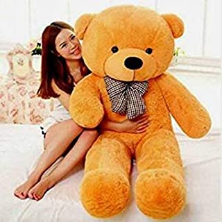 GURUDEV Loveable HUGABLE Soft Giant Life Size , Long Huge Teddy Bear(Best for Someone Special) (4 Feet, Brown)