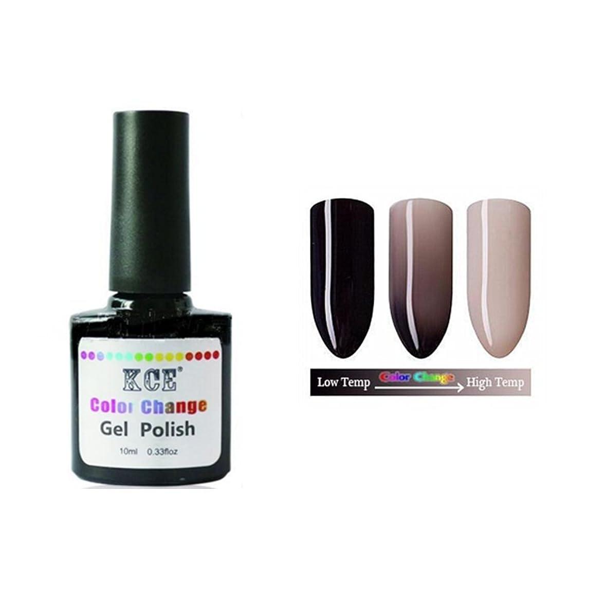 スペイン語テナントシャーロットブロンテ1ボトル10ml 温度によって色が変わる ネイルジェル 変色ジェルネイル UV/LEDジェルネイルアート