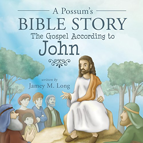 A Possum's Bible Story audiobook cover art