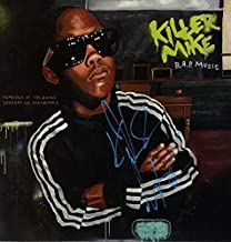 Killer Mike Signed Autographed R.A.P. Music Album Cover UACC RD COA AFTAL
