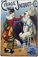 サイレージジャコット壁の金属のポスターレトロなプラークの警告ブリキのサインヴィンテージ鉄の絵画の装飾オフィスの寝室のリビングルームクラブのための面白い吊り工芸品
