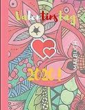Valentinstag 2020! MALBUCH: Ein lustiges Valentinstag-Malbuch mit Herzen