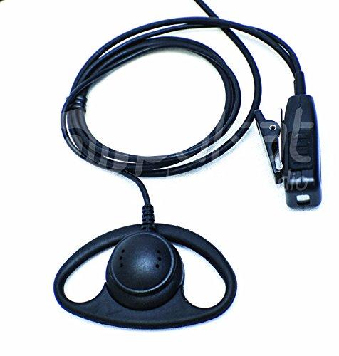 Pulsat Auricular en Forma de D para Vertex Standard VX-231 VX-261 VX-351 VX-451 eVerge EVX-531 Radios EH20 Series
