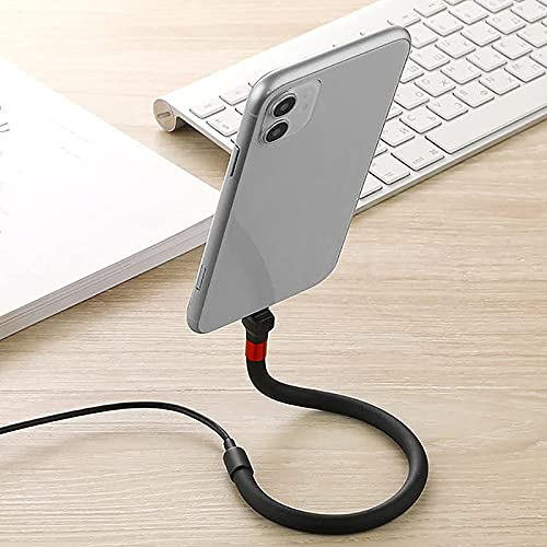 ZANLION 1 Pc 3-in-1 Phone Holder Universal Cable Bracket 1.2 M USB...
