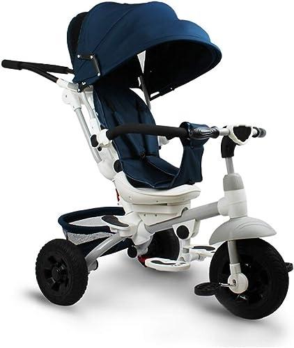 60% de descuento Yuany Triciclo, Triciclo, Triciclo, tobogán equilibrado Multifuncional 4 en 1, Adecuado para 1-6 años de Edad, Triciclo para Niños, azul  gran selección y entrega rápida