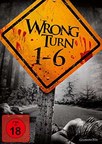 Wrong Turn 1-6 [6 DVDs]