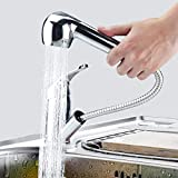 Kitchen Sink Taps kisimixer Pull Out Sprayer Cold and Hot Water Mixer Faucet