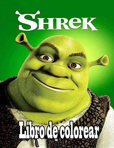Shrek libro de colorear