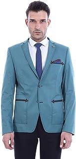 Wessi Men's Blazer Mit Zwei Knöpfen Business Suit Jacket