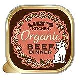 Lily's Kitchen Comida Húmeda Cena de Vacuno Orgánico para Gato (19 x 85g)