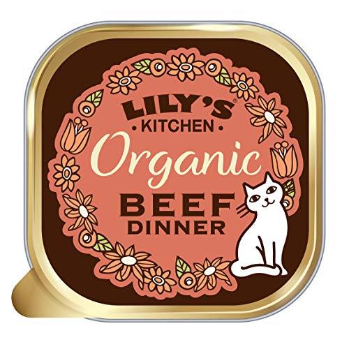 Lily's Kitchen Cena De Vacuno Orgánico para Gato 19 Unidades 1600 g