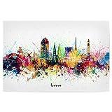 artboxONE Poster 60x40 cm Städte Bremen Skyline Artistic -