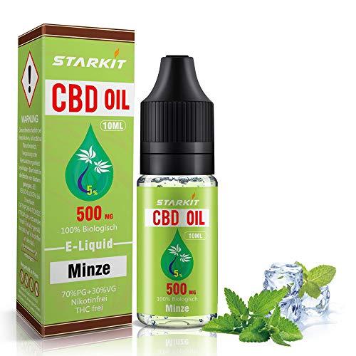 STARKIT® CBD Liquids 500mg, Vape Öl...