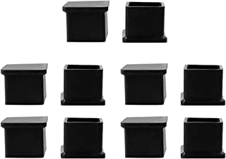 uxcell Chair Table Foot Protective Cover Furniture Leg Caps 38mmx38mm 10 Pcs