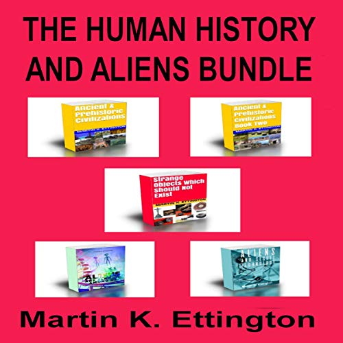 The Human History and Aliens Bundle audiobook cover art