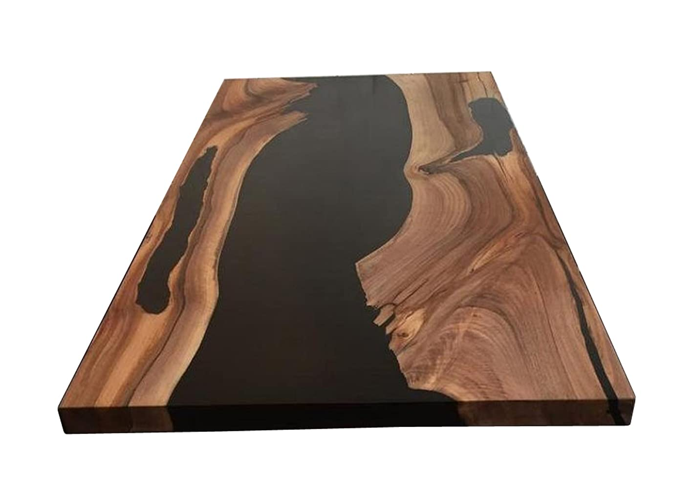 Epoxy Great interest Table Live Edge Resin Na Ranking integrated 1st place Wooden River