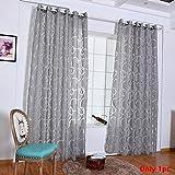 Tookie - Cortinas decorativas para el hogar, cortinas tul de gasa para dormitorio, sala de estar, ventana, puerta,...