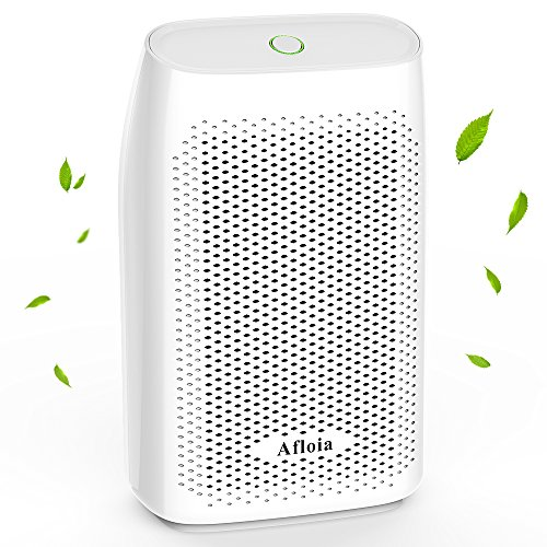 Afloia Electric Home Dehumidifier, Portable Dehumidifier for Home Bedroom 700ml (24fl.oz) Capacity up to (215 sq ft)-white