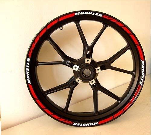Adhésifs Moto Pcd Bandes Roues Ducati Monster 696 - 796 - 1100