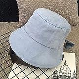 Versión Coreana del Sombrero de Pescador con Lazo Salvaje, Dulce y Lindo Sombrero de Lavabo japonés, sombrilla al Aire Libre, Sombrero de ala Grande, Marea Femenina de Primavera y Verano