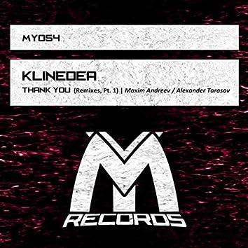 Thank You: Remixes, Pt. 1