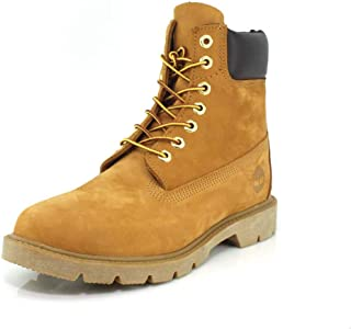 """Timberland Men's 6"""" Basic Boot-Contrast Collar Ankle"""