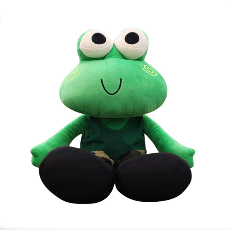 Muziwenju Plush Toys, Frog Plush Toys, Cute Rag Dolls, Bigeyed Frog Pillows, Birthday, Various Sizes, Best Gifts (Size   65cm)
