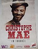 Christophe Mae - 80X120 Cm Affiche / Poster