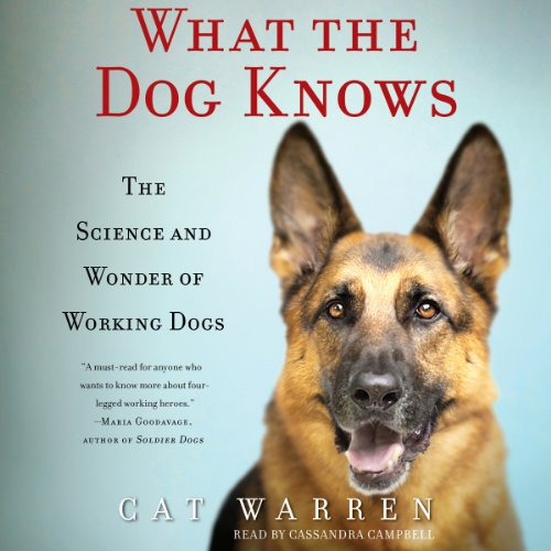 What the Dog Knows audiobook cover art