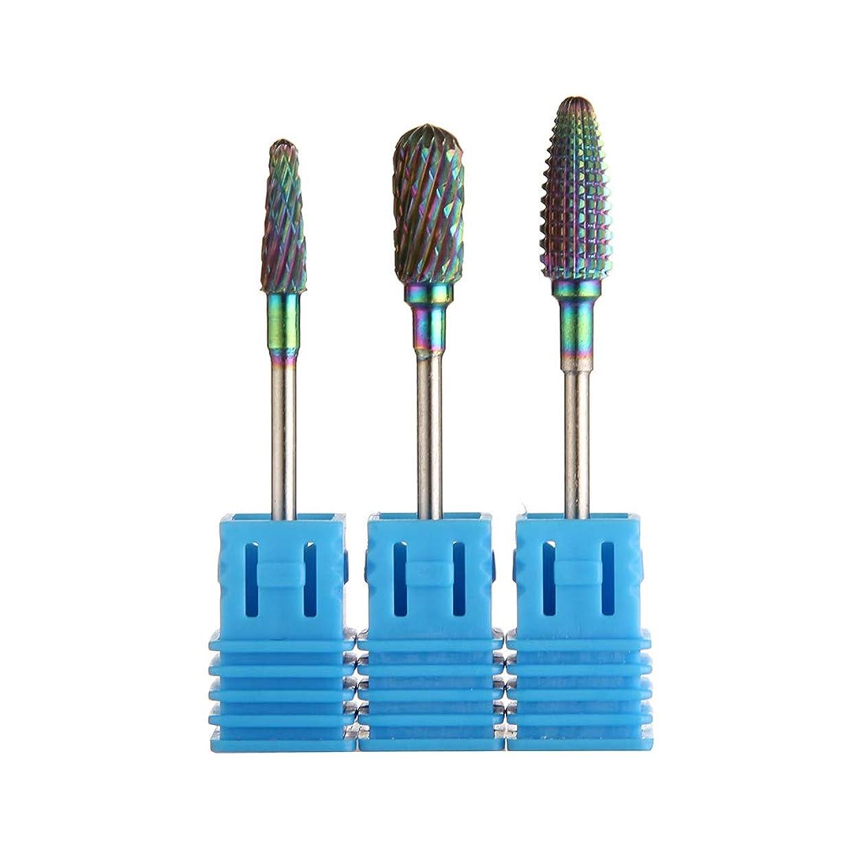 ハブ栄光の比類なきDecdeal ネイル研磨 爪 磨き 研磨 研削 研削ヘッド 研磨ヘッド