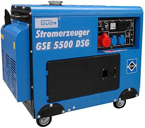 GÜDE Stromerzeuger - Stromgenerator GSE 5500 DSG Art.: 40586
