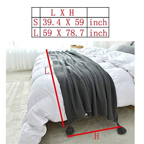 TZUTOGETHER Teppich extra weich fürs Wohnzimmer, Schlafzimmer, Esszimmer oder Kinderzimmer dunkel-grau 40x30 cm-B