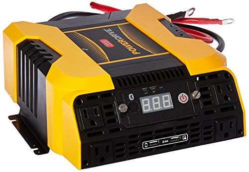 PowerDrive PD2000 2000 Watt Power Inverter With Bluetooth,