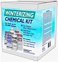 Qualco Pool Closing Chemical Kit for All Pools up to 30,000 Gallons
