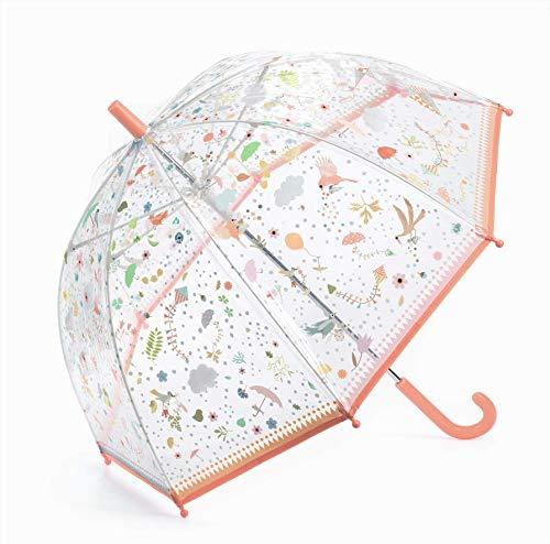 Djeco Kleiner Regenschirm, leichte Accessoires, Jugendliche, Unisex, Weiß (weiß), einzigartig