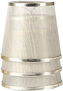 Uonlytech Pantallas de lámpara de araña de 3 piezas organza clip transarente en pantalla para lámparas lámpara de pie y lámpara de mesa cubierta de lámpara