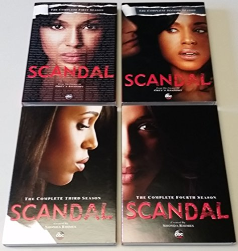 Scandal Complete Seasons 1-4