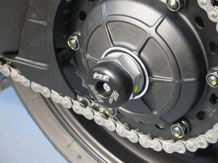 Satz GSG Moto Sturzpads Hinterrad links passend für die Honda CB 1000 R SC60 08-10